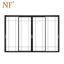 NF Aluminum Interior Sliding Glass DoorsFor Kitchen
