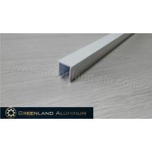 Manual Operated Sliding Aluminum Curtain Track with Powder Coating White