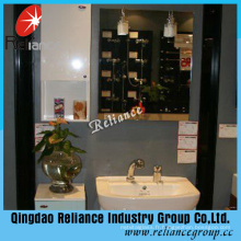 Miroir argenté de 3,7 mm / Miroir de salle de bain / Miroir recouvert double / Miroir de peinture vert