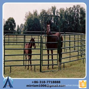 heavy duty livestock fence,3 rail livestock fence,used livestock fence panels