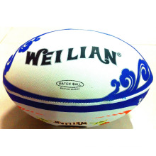 Hot sales rugby ball / rubber inflatable football
