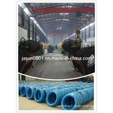 60 # / 65 # / 70 # / 72b / 80 # / 82b Fil en acier à haute teneur en carbone pour le conduit flexible, le ressort de matelas, la brosse ou la production de cordes en acier