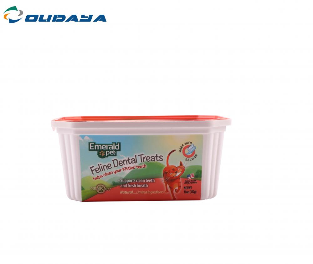 Butter Plastic Container
