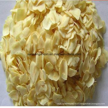 Tranche d'ail, Granulés en flocons, poudre au meilleur prix et bonne qualité