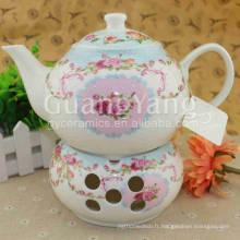 Ensemble de thé vintage en porcelaine