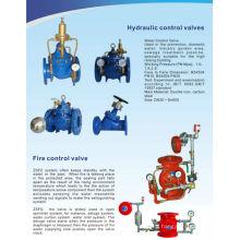 Válvula de control de flujo de agua