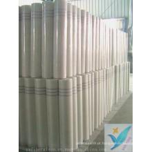 5mm * 5mm 150G / M2 fibra de vidro Mesh para parede