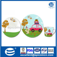 Прелестный фарфоровый сервиз 3шт для детей BC8121