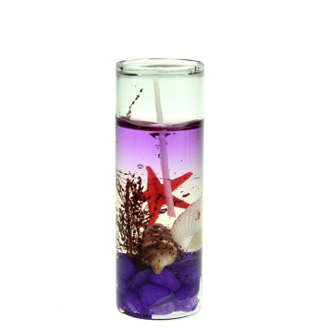 Crystal Jar Gel Wax Tema Laut Jelly Lilin