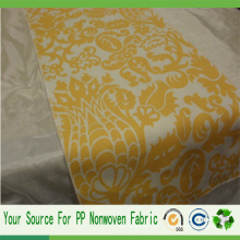 Tela impressa não tecida dos PP Spunbond da fábrica de China