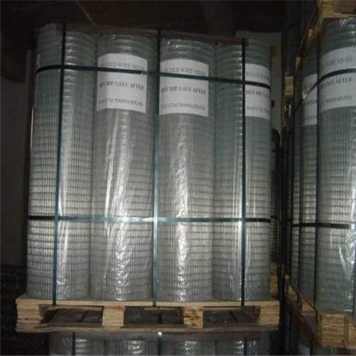 Welded wire mesh pallte package