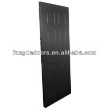 Gute Preis Holztür beschichtet mit PVC für Nigeria Markt
