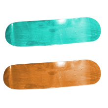 Deep concave 7 ply Canadian maple plain skateboard decks
