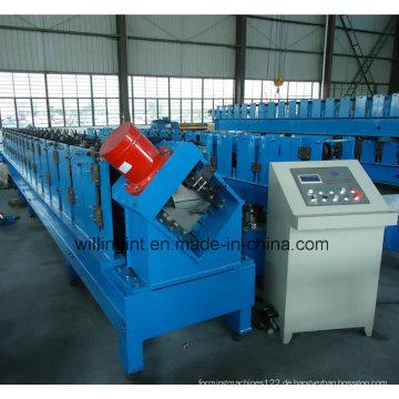 Neue Purlin-Stahlbolzen-Rollformmaschine mit Fabrik
