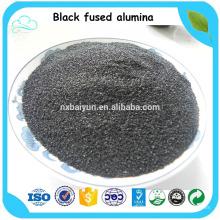 Schwarz Korund / Black Fused Alumina / Schwarzaluminiumoxid zu verkaufen