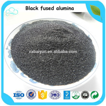 Black corundum / Black Fused Alumina / Black Aluminum Oxide for sale