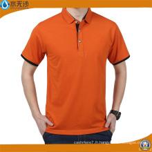 OEM Hommes Piqué Coton Polo Polos Plain T-Shirts