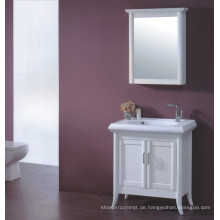 Weiße hölzerne Badezimmer Eitelkeit (B-329)