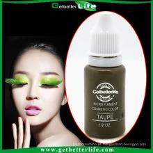 2014 getbetterlife tinta de tatuagem permanente maquiagem pigmento líquido-lábio/sobrancelha