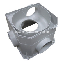 Plastic industrial water connector injection mould