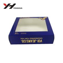 Nouvelle conception en plastique PVC emballage boîte pour cadeau
