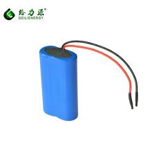 Bateria de íon de 18650 li 7.4 V 2500mAh, bateria do graphene com ciclo profundo para o brinquedo / controlo a distância