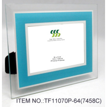 Yellow Glass Mirror Coated Photo Frame