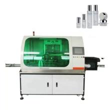 Máquina de serigrafía automática de botellas cuadradas