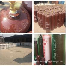 Cylindre de gaz d'acétylène de la Chine 40L