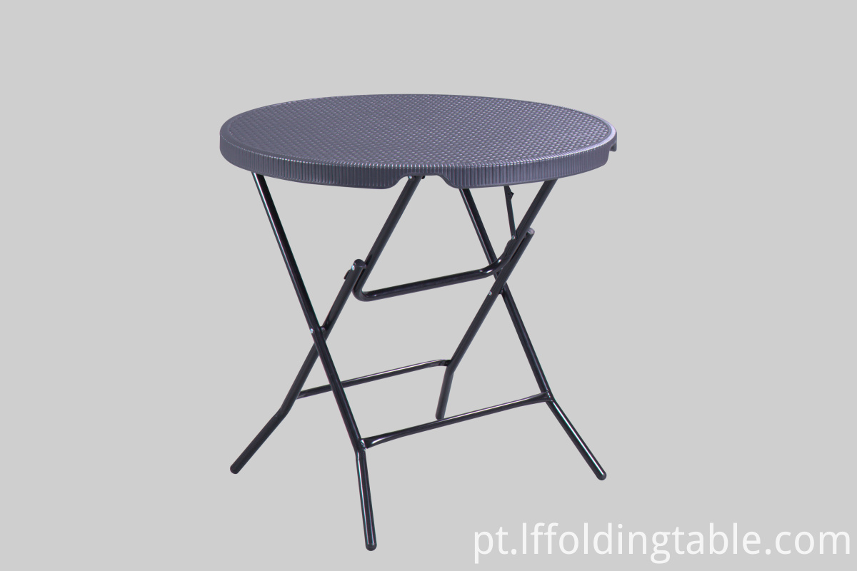 HDPE Rattan Design Table