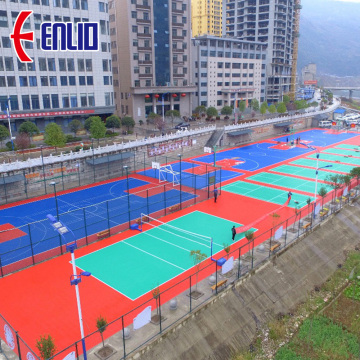 Enlio Basket Multi Purpose Outdoor Modular Court Tiles
