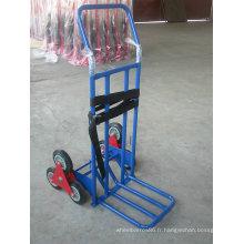 Chariot résistant, chariot à main de 3 roues pour Escalade Convertible Teleslopic d'escaliers