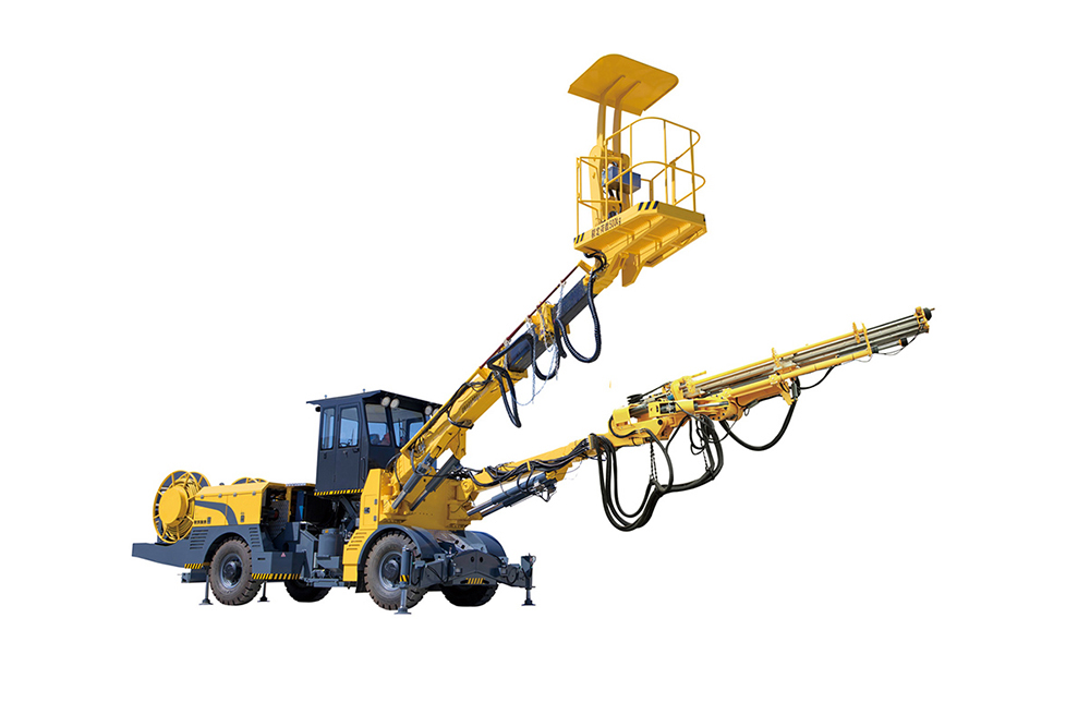 Retractable Rock Drilling Jumbo