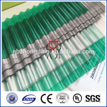2mm polycarbonate corrugated sheet