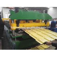 Machine de formage de rouleaux de toit en métal, Machine de formage de rouleaux de carreaux de toit, Prix de machine à former des rouleaux d'occasion