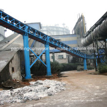 Steelworks Material Handling Pipe Belt Conveyor/Tubular Belt Conveyor