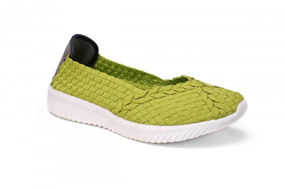 Low-profile Casual Woven Shoes