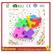 3D Magic Eraser mit Puzzle Cube Form