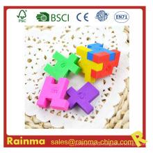 3D Magic Eraser mit Puzzle Cube Form