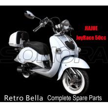 JIAJUE Retro Bella 50cc 125cc 150cc Complete Motorcycle Spare Parts