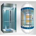 Ascenseur panoramique en verre extérieur sans machine
