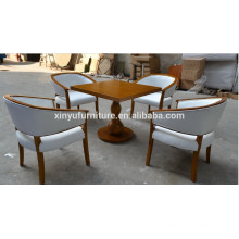 Restaurant furniture coffee table and chair set XYN935
