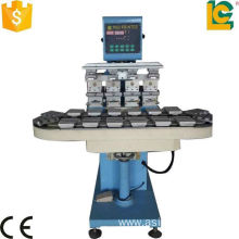 4 color Tampo pad printer with conveyer