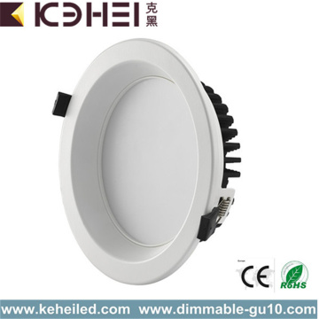 12W dimbare LED downlights 4 inch wit