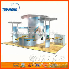 Rent exhibition stand portable booth trade show stand for exhibition display with stand banner in Shanghai