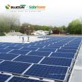 Bluesun panel solar 12v 18v DC 110V 220V Rejilla de conexión 5kw Sistema de energía solar en casa en promoción para el mercado de América
