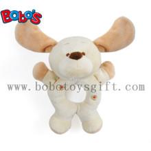 """7"""" Plush Funny Dog Infant Toys Baby Rattle Toy"""