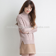hot sale custom luxury cashmere sweater women