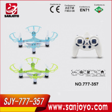 Throw to fly mini drone 777-357 nano quadcopter with light