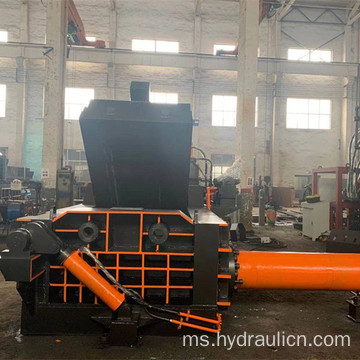Hydraulic Waste Metal Scrapped Car Turn-out Baling Press